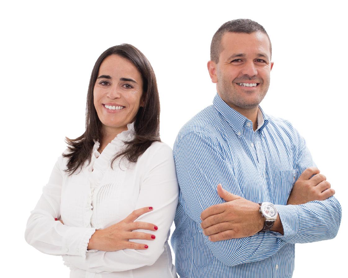 Tânia Braz e Fernando Aires